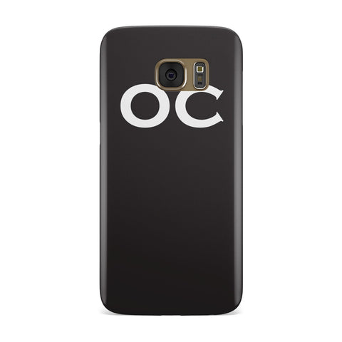 Personalised Initials 1 Samsung Galaxy Case
