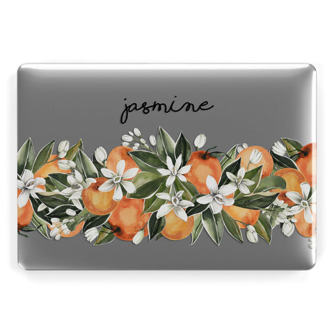 Personalised Bouquet of Oranges Macbook Case