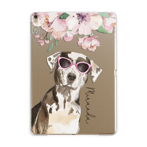 Personalised Catahoula Leopard Dog iPad Case