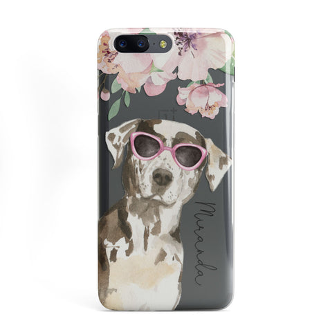 Personalised Catahoula Leopard Dog OnePlus Case
