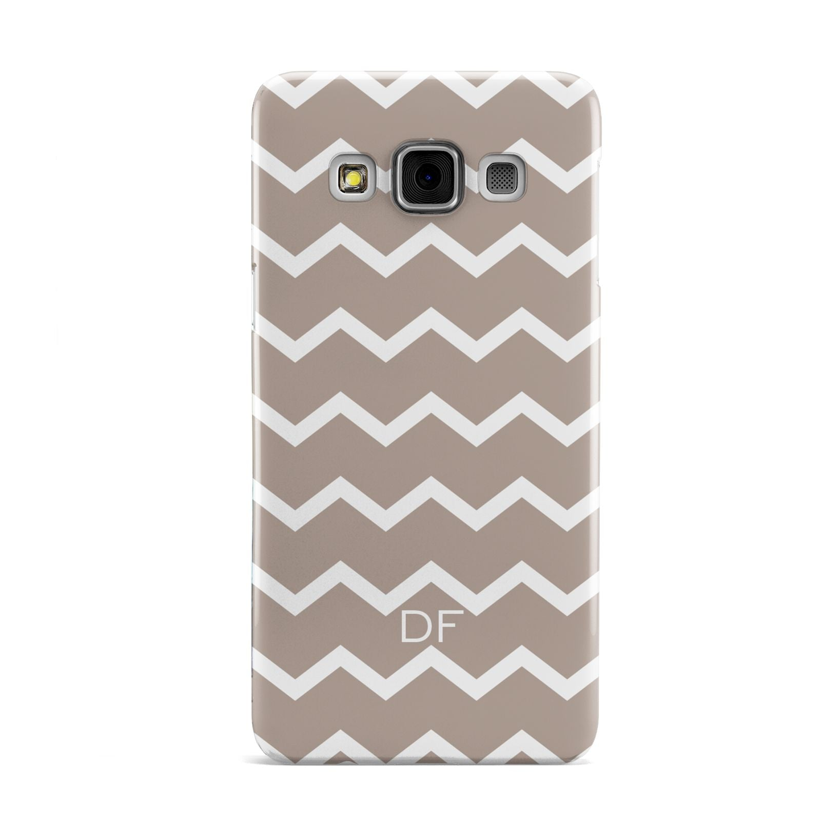 Personalised Chevron Beige Samsung Galaxy A3 Case
