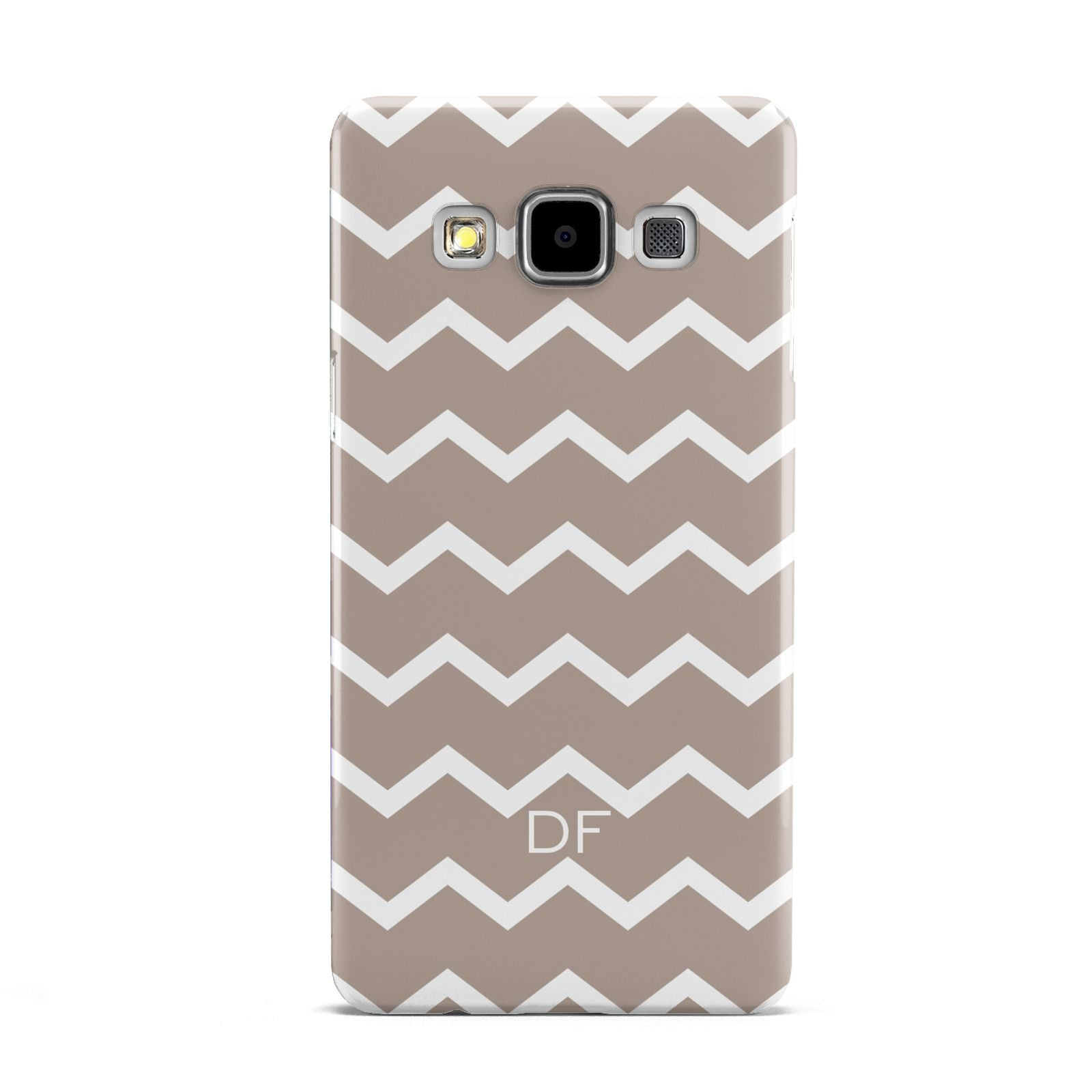 Personalised Chevron Beige Samsung Galaxy A5 Case