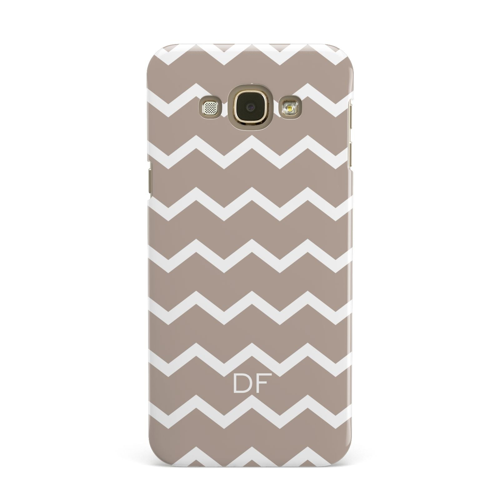 Personalised Chevron Beige Samsung Galaxy A8 Case
