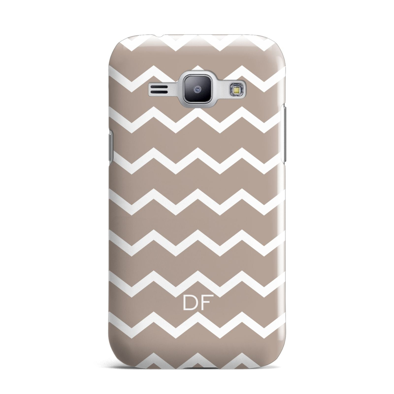 Personalised Chevron Beige Samsung Galaxy J1 2015 Case