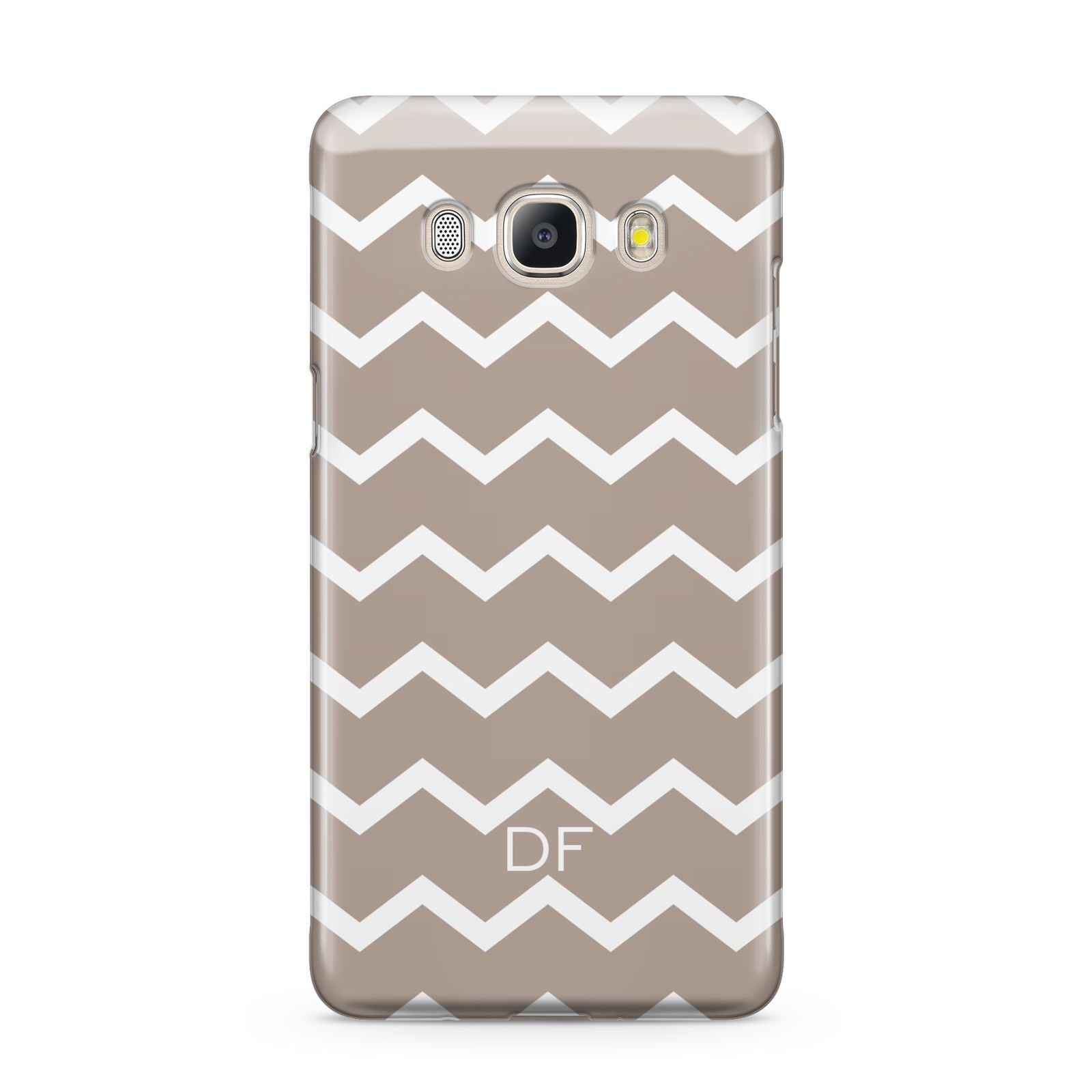 Personalised Chevron Beige Samsung Galaxy J5 2016 Case
