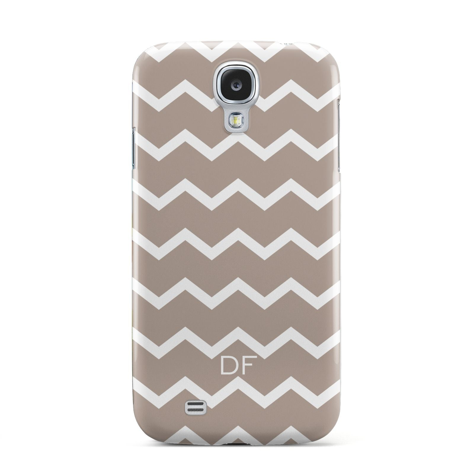 Personalised Chevron Beige Samsung Galaxy S4 Case