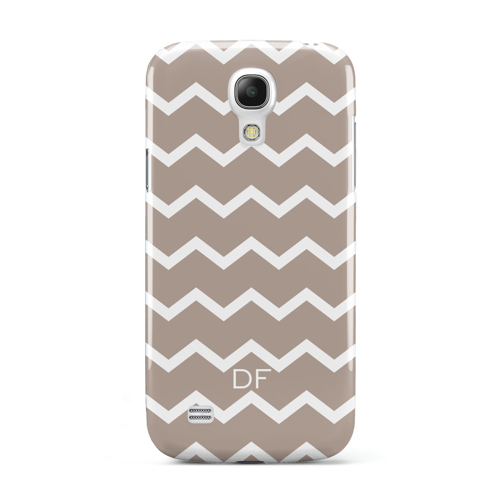 Personalised Chevron Beige Samsung Galaxy S4 Mini Case