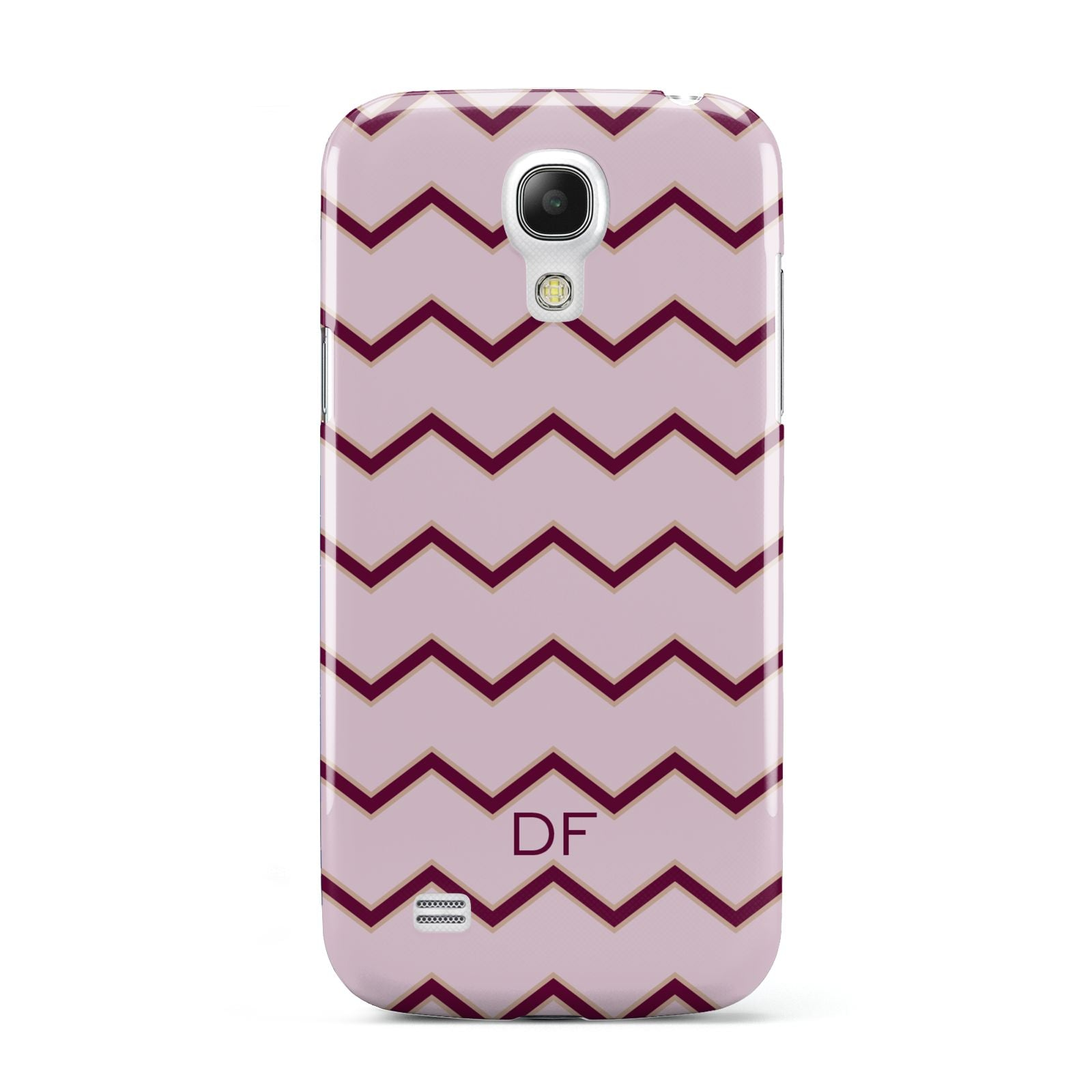 Personalised Chevron Burgundy Samsung Galaxy S4 Mini Case