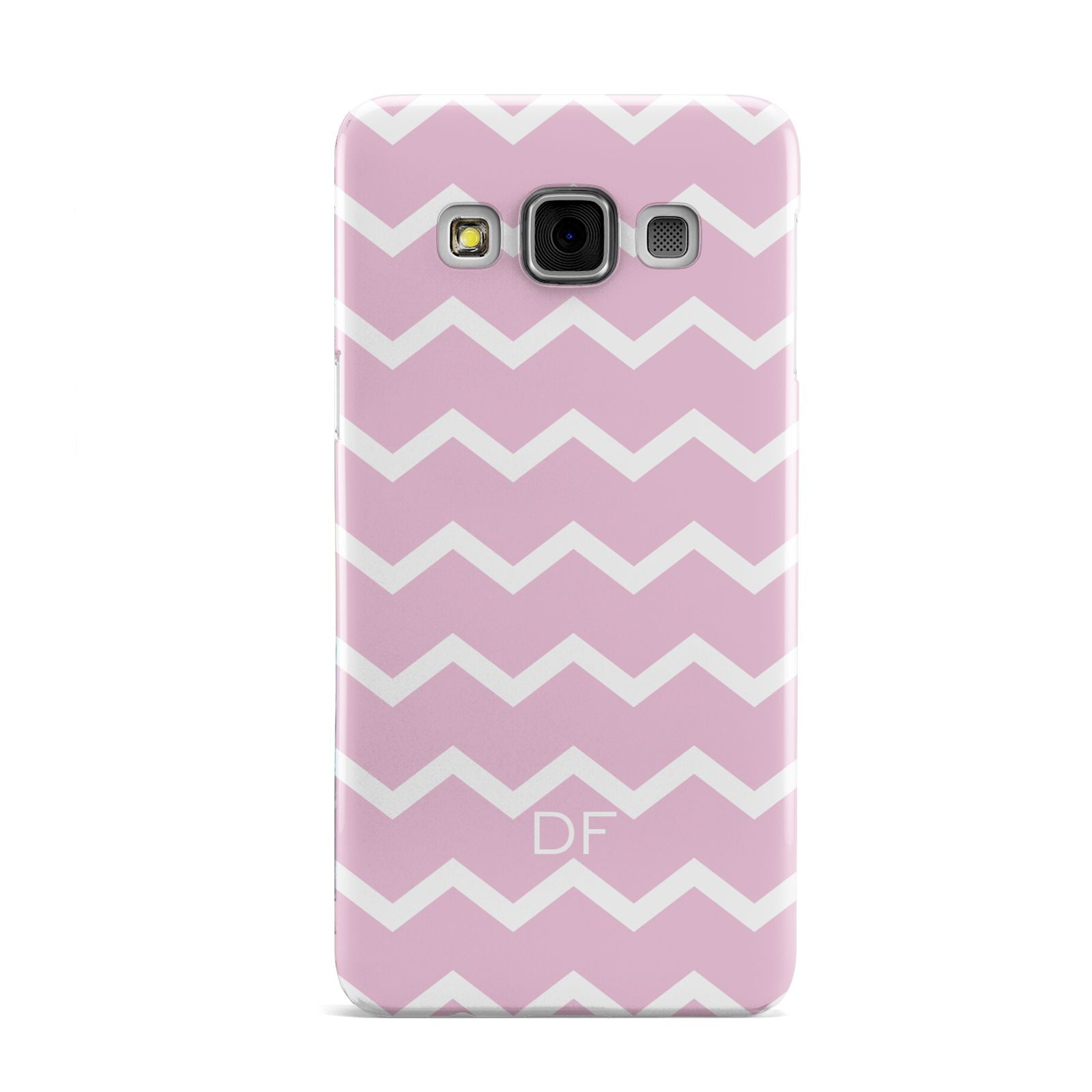 Personalised Chevron Pink Samsung Galaxy A3 Case