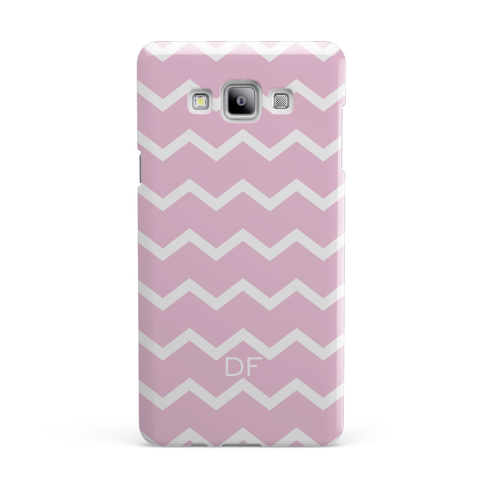 Personalised Chevron Pink Samsung Galaxy A7 2015 Case