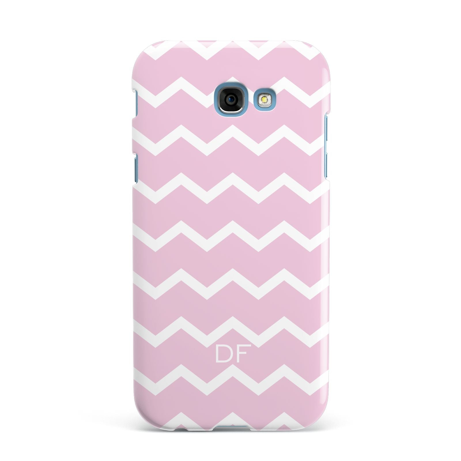 Personalised Chevron Pink Samsung Galaxy A7 2017 Case