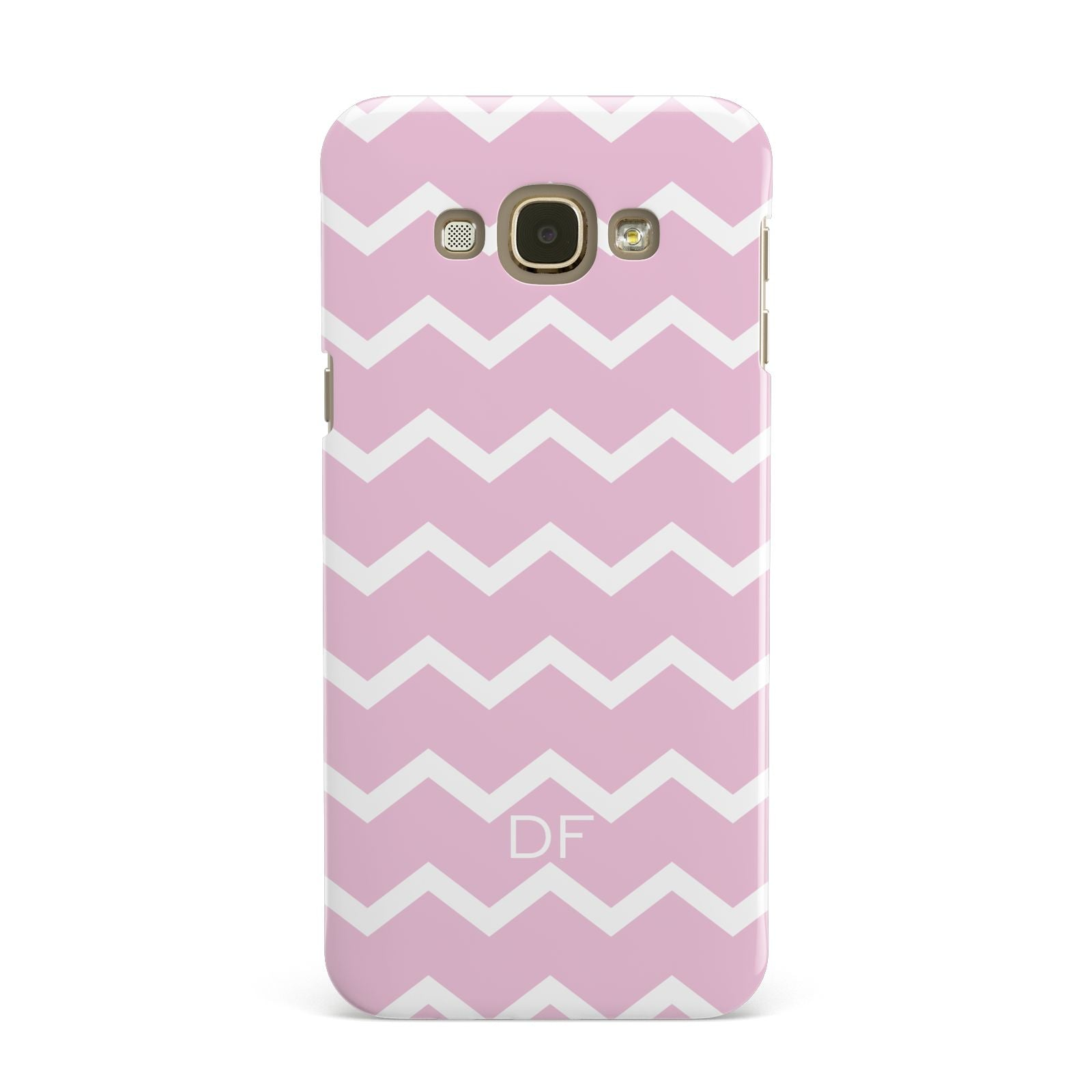 Personalised Chevron Pink Samsung Galaxy A8 Case