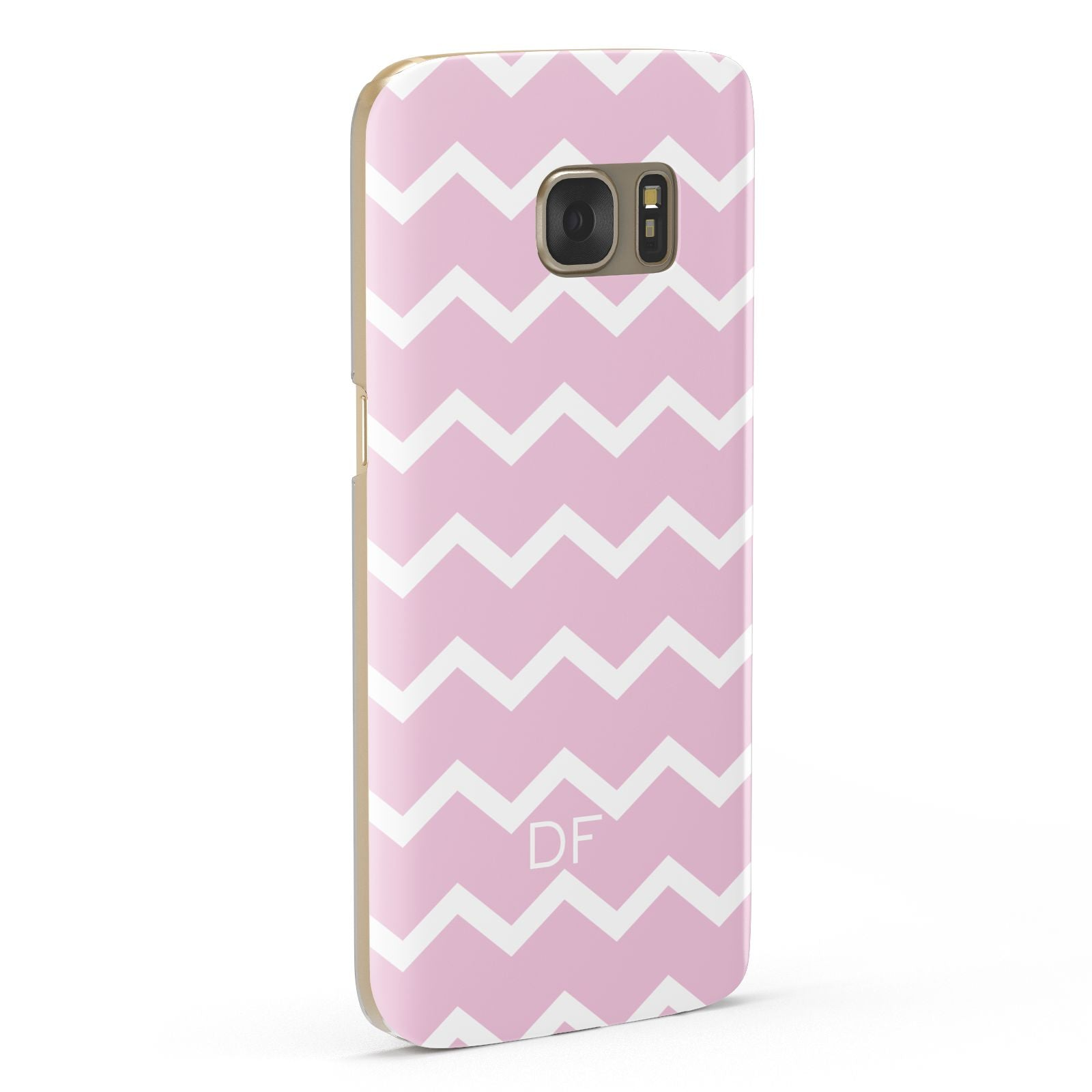 Personalised Chevron Pink Samsung Galaxy Case Fourty Five Degrees