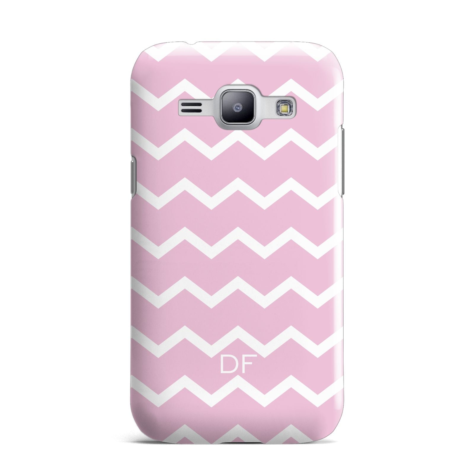 Personalised Chevron Pink Samsung Galaxy J1 2015 Case