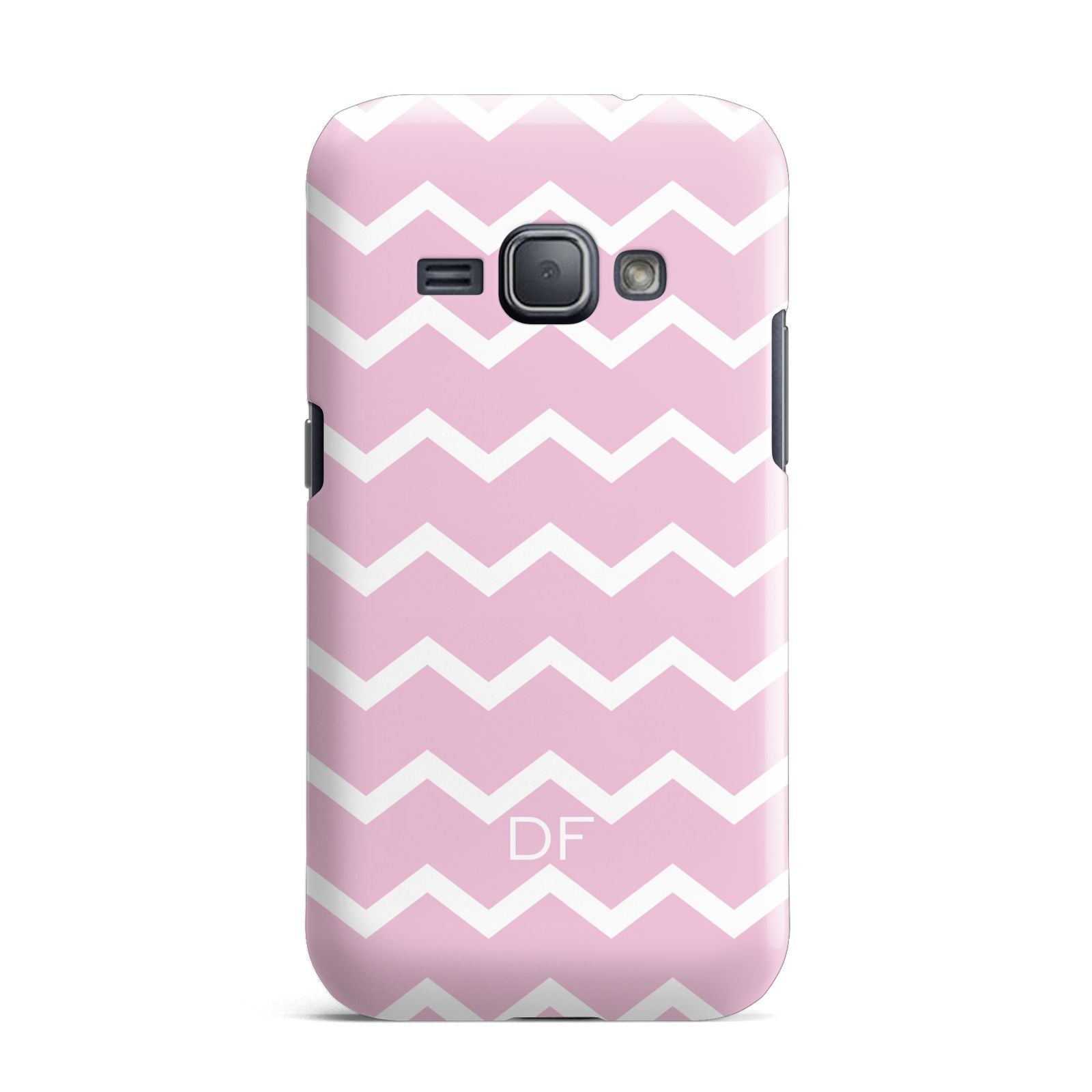 Personalised Chevron Pink Samsung Galaxy J1 2016 Case