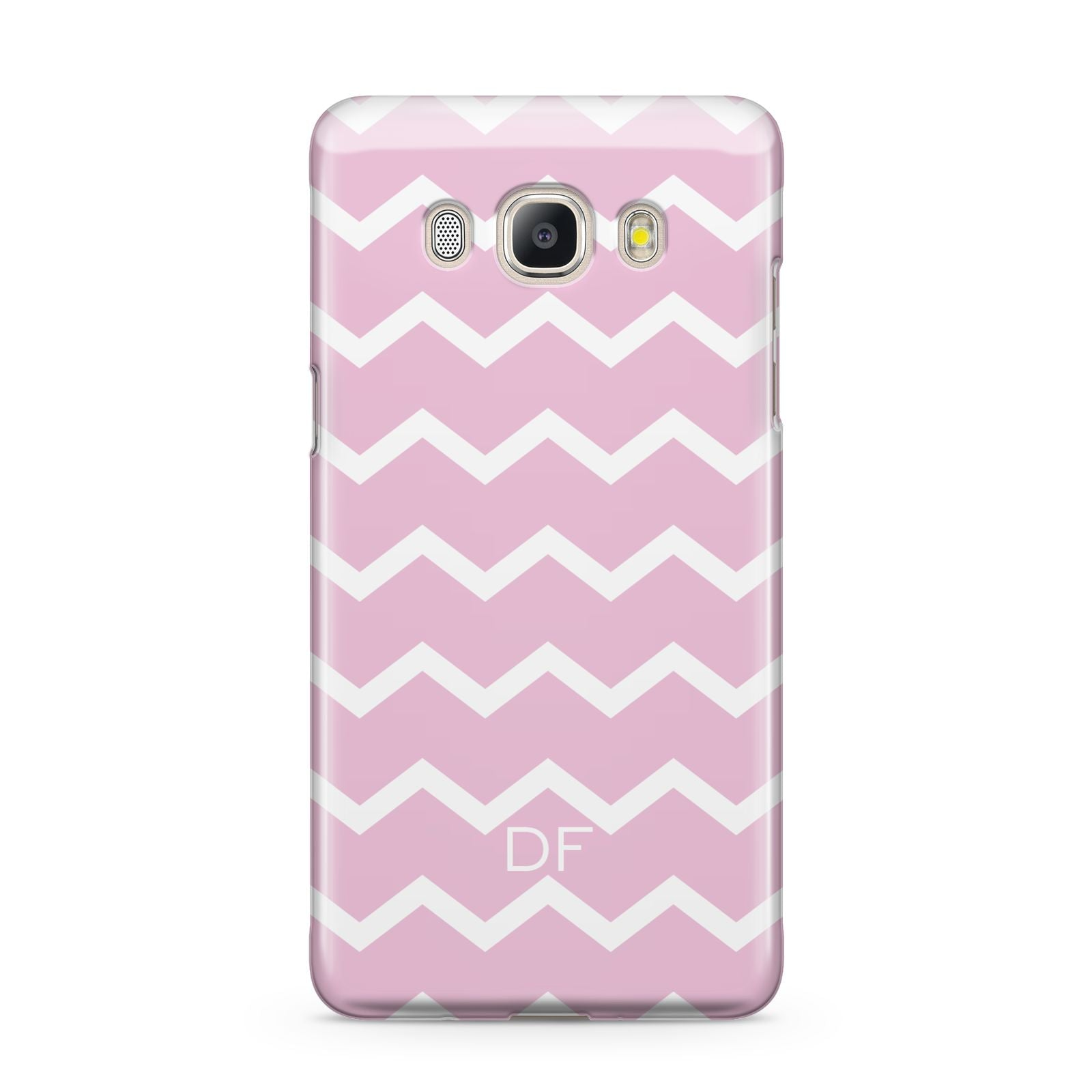 Personalised Chevron Pink Samsung Galaxy J5 2016 Case