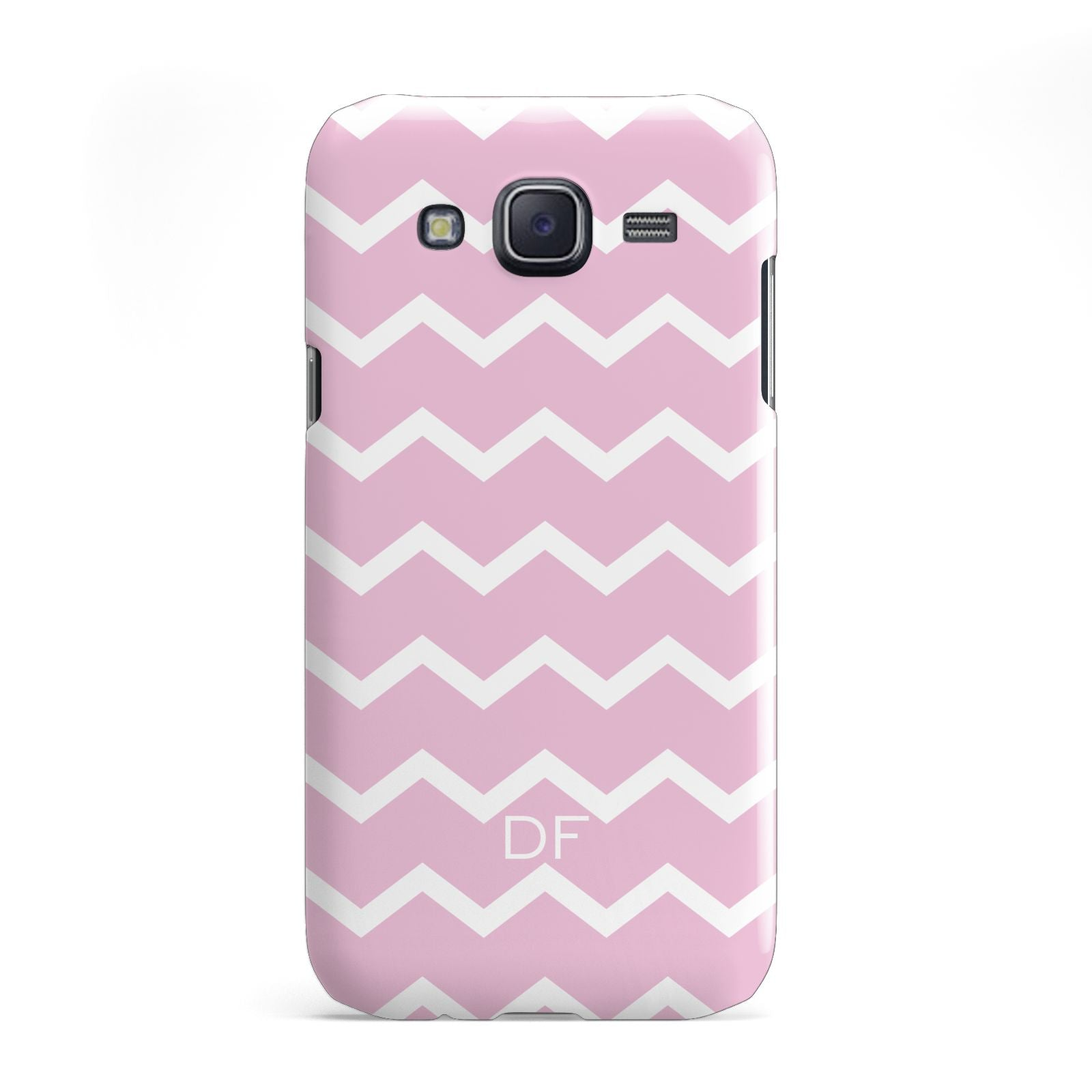 Personalised Chevron Pink Samsung Galaxy J5 Case