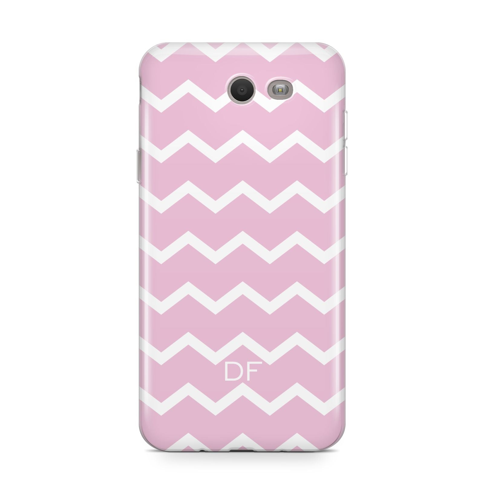 Personalised Chevron Pink Samsung Galaxy J7 2017 Case