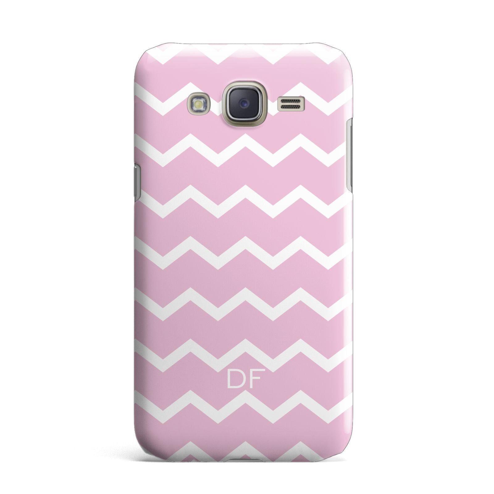 Personalised Chevron Pink Samsung Galaxy J7 Case