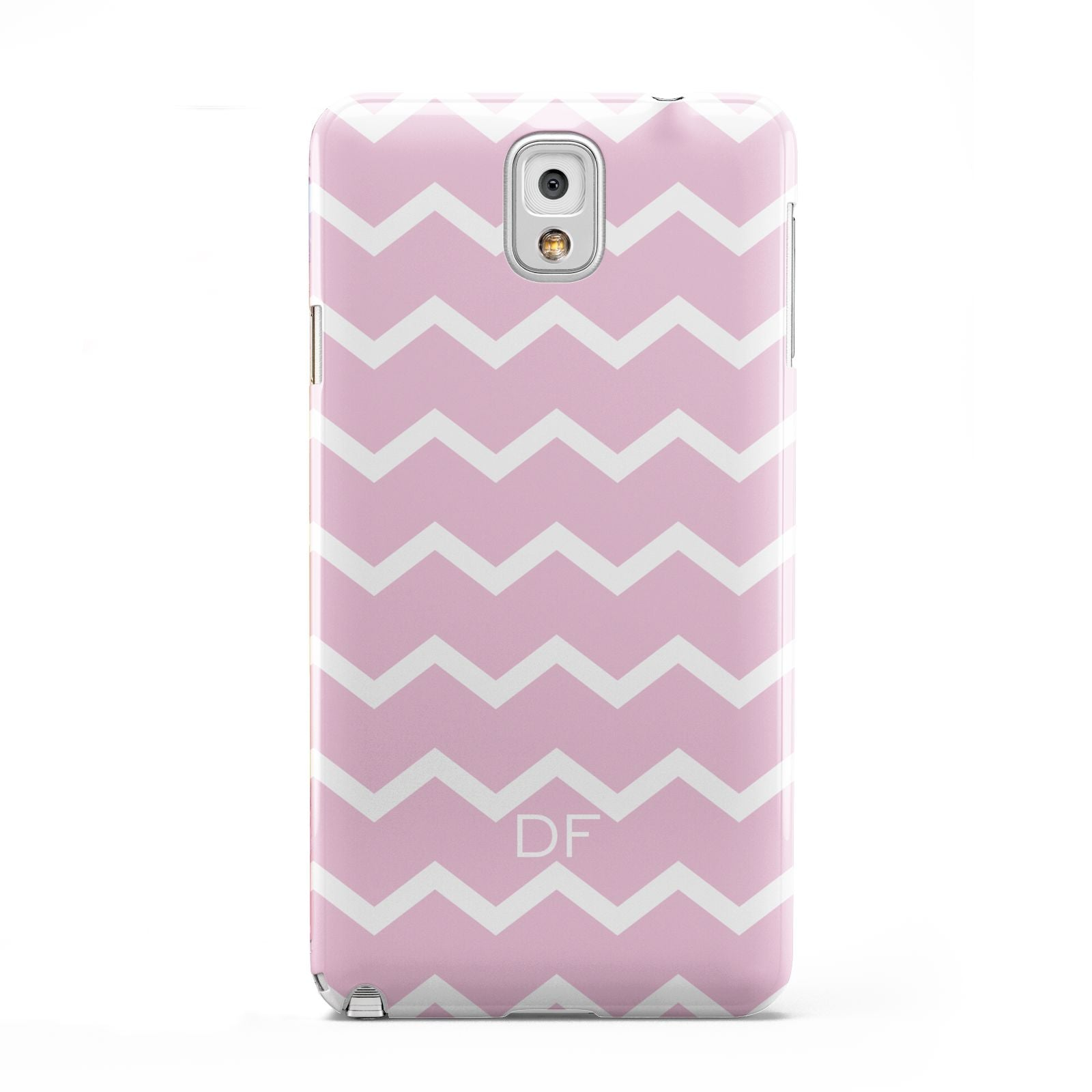 Personalised Chevron Pink Samsung Galaxy Note 3 Case
