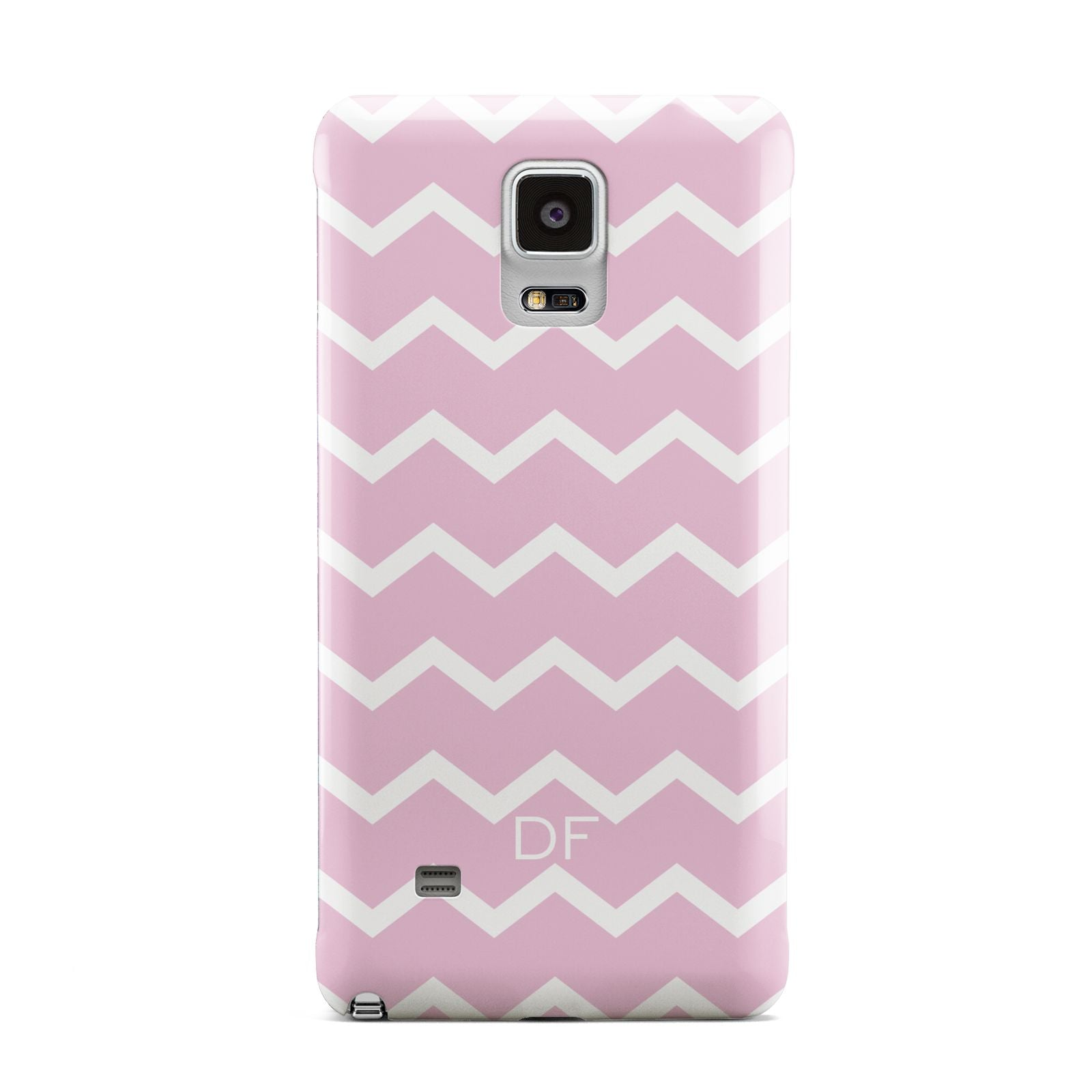 Personalised Chevron Pink Samsung Galaxy Note 4 Case