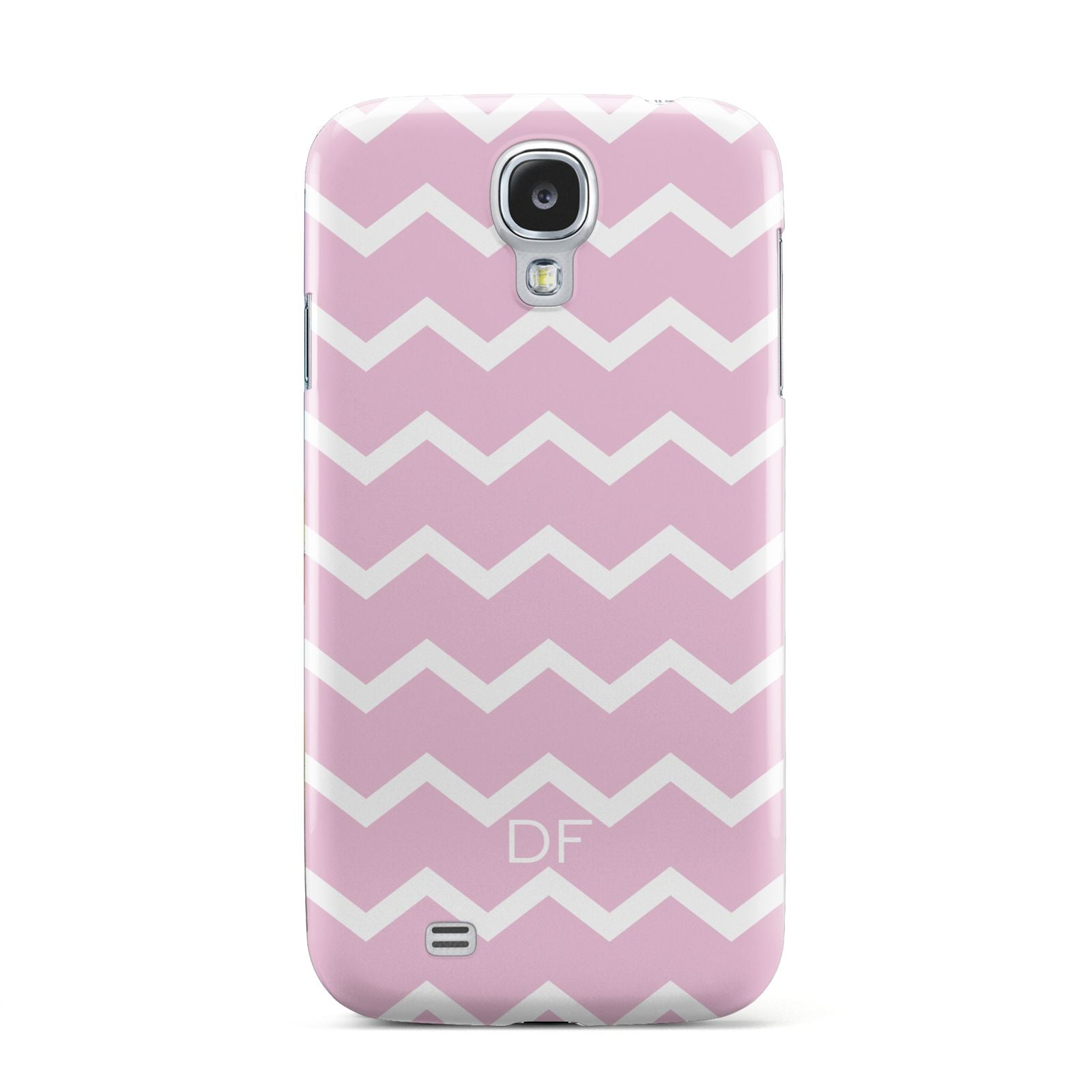 Personalised Chevron Pink Samsung Galaxy S4 Case