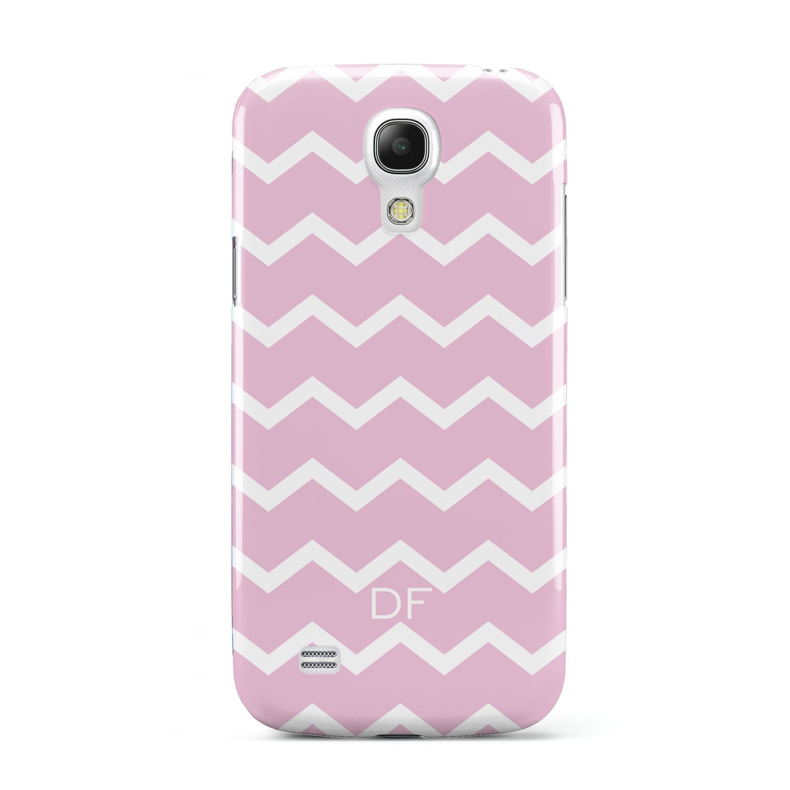 Personalised Chevron Pink Samsung Galaxy S4 Mini Case