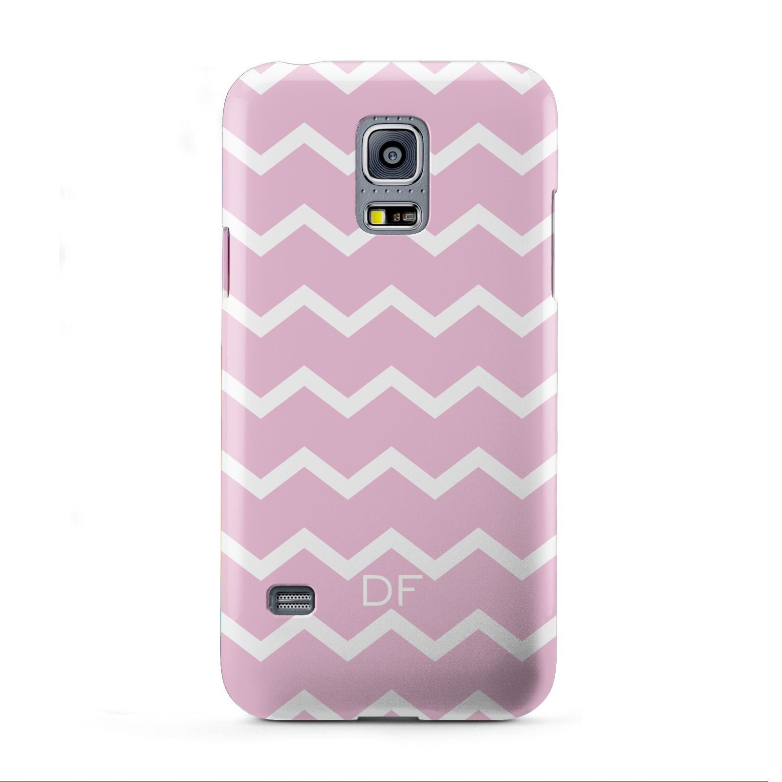 Personalised Chevron Pink Samsung Galaxy S5 Mini Case