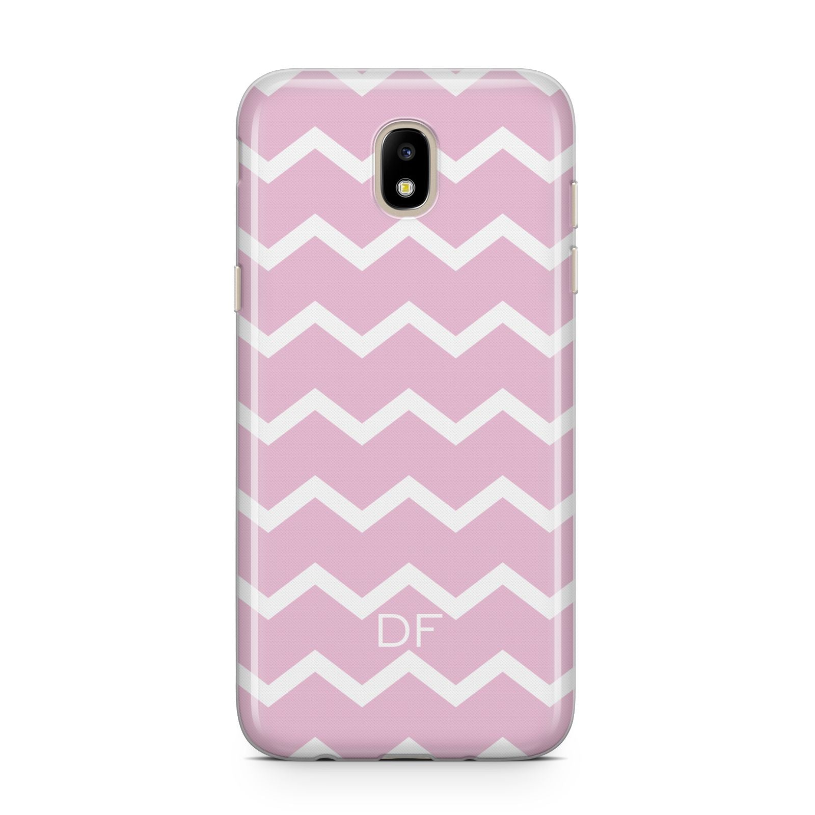 Personalised Chevron Pink Samsung J5 2017 Case