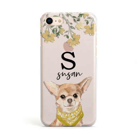 Personalised Chihuahua Dog iPhone Case