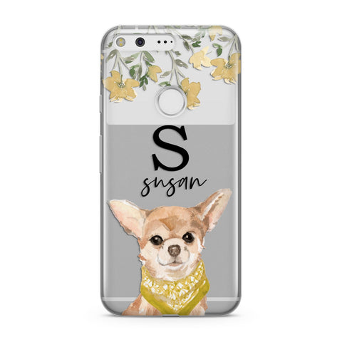 Personalised Chihuahua Dog Google Case
