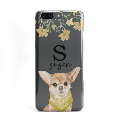 Personalised Chihuahua Dog OnePlus Case