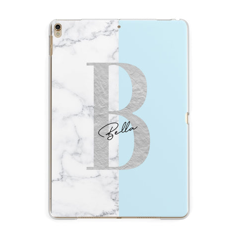 Personalised Chrome Marble iPad Case