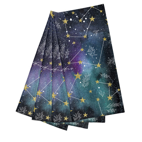 Personalised Constellation Napkins