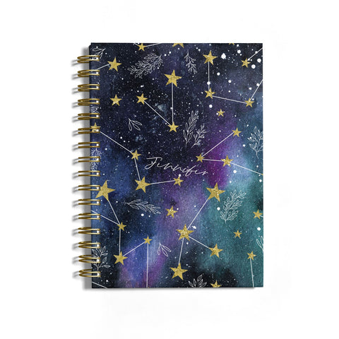 Personalised Constellation Notebook
