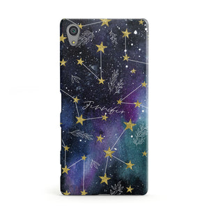 Personalised Constellation Sony Xperia Case