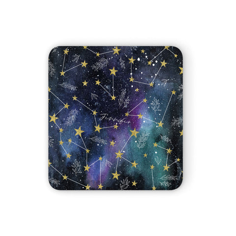 Personalised Constellation Coasters set of 4
