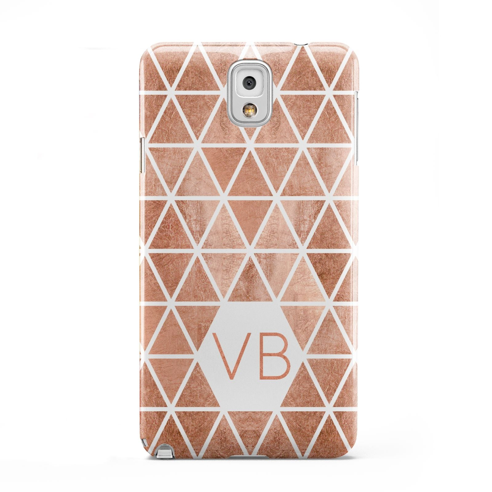 Personalised Copper Initials Samsung Galaxy Note 3 Case