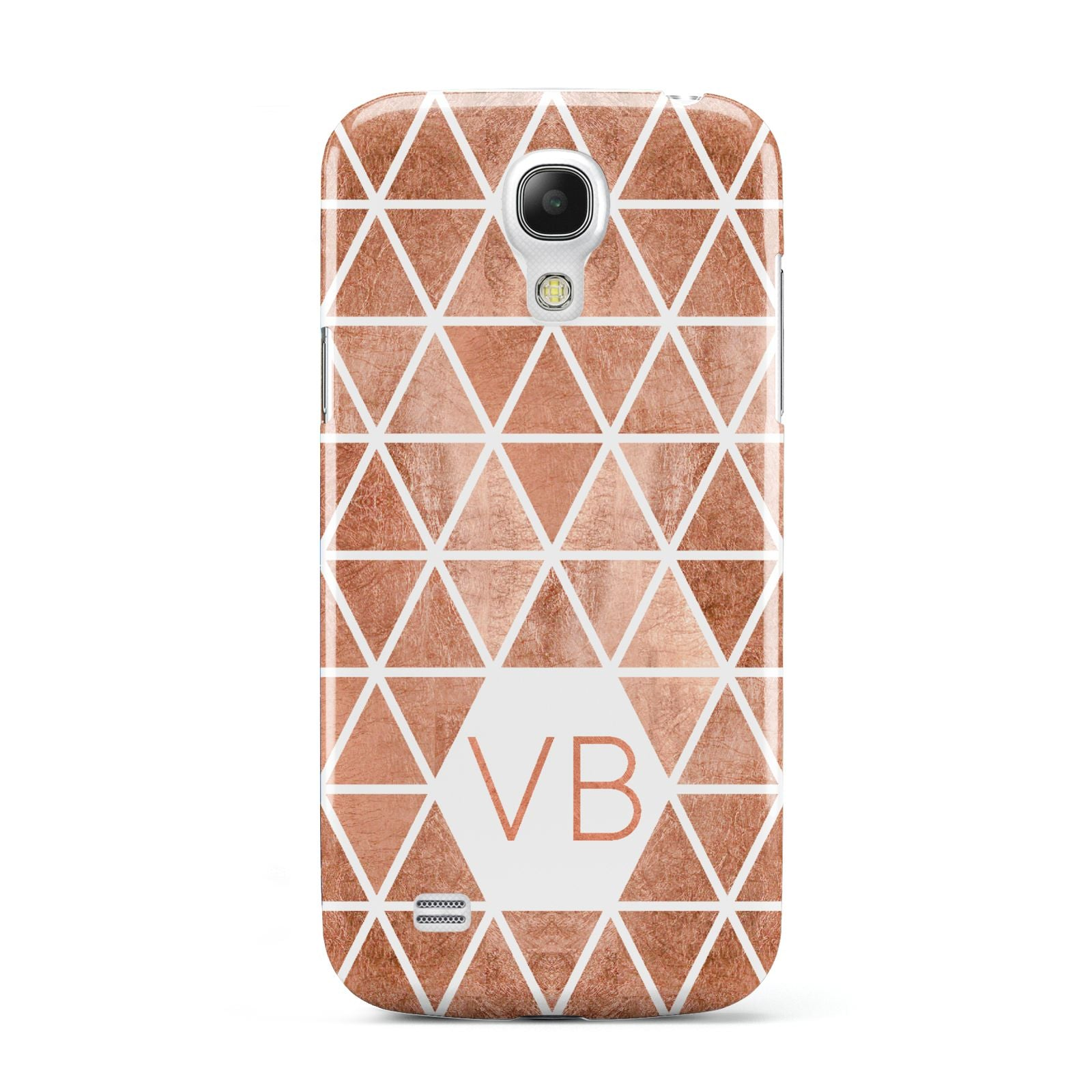 Personalised Copper Initials Samsung Galaxy S4 Mini Case