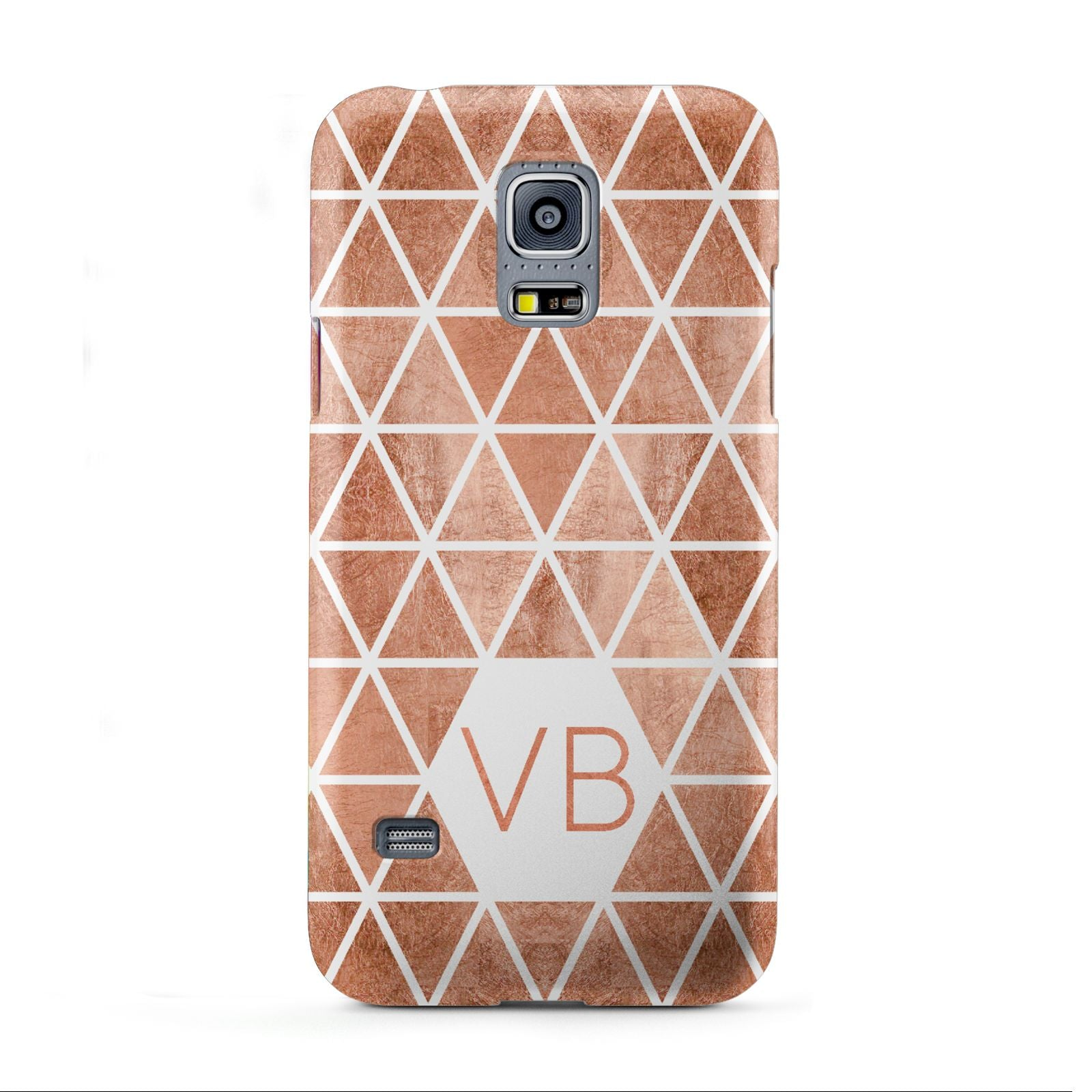 Personalised Copper Initials Samsung Galaxy S5 Mini Case