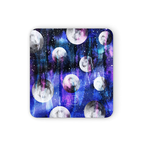 Personalised Cosmic Coasters set of 4