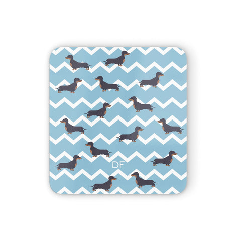 Personalised Dachshund Coasters set of 4