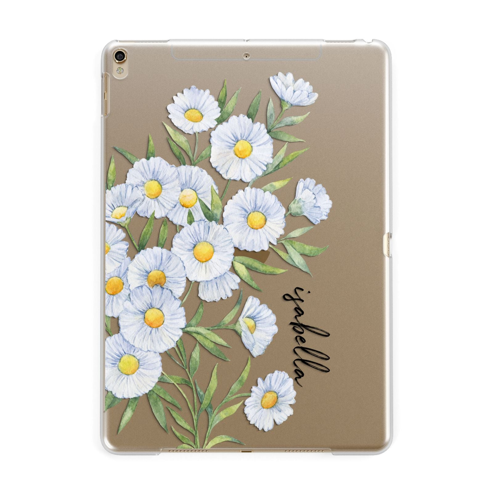 brand new ec407 08464 Personalised Daisy Flower iPad Case