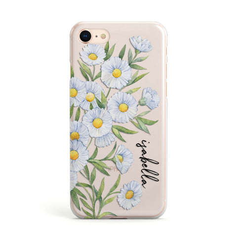 Personalised Daisy Flower iPhone Case