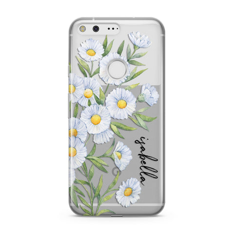 Personalised Daisy Flower Google Case