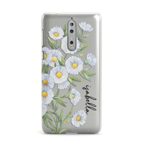 Personalised Daisy Flower Nokia Case