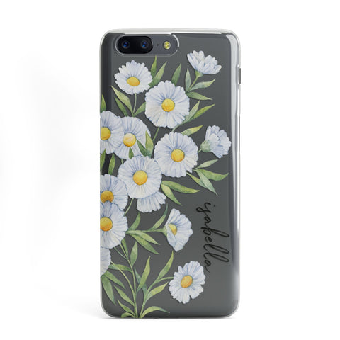 Personalised Daisy Flower OnePlus Case