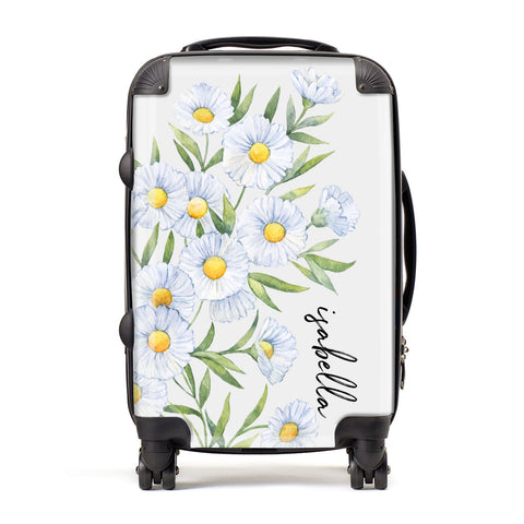 Personalised Daisy Flower Suitcase