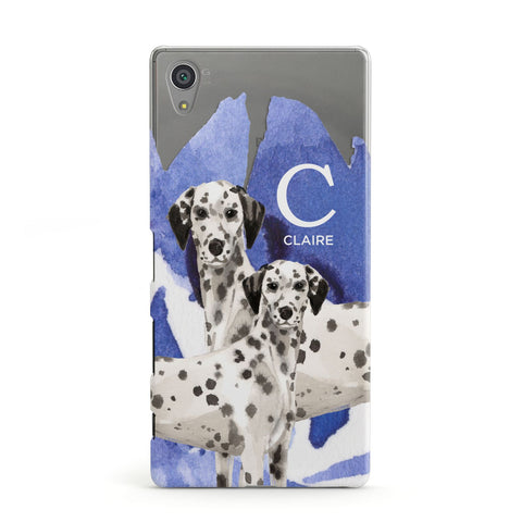 Personalised Dalmatian Sony Case