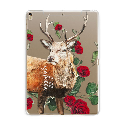 Personalised Deer Name iPad Case